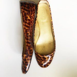 🔥 J. Crew Ballet Flats Leopard Print